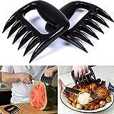 K&C Pulled Pork Shredder Claws BBQ Grilling Accessories Claw Handler Set for Pulling Brisket Meat Handler Forks 2 Pcs