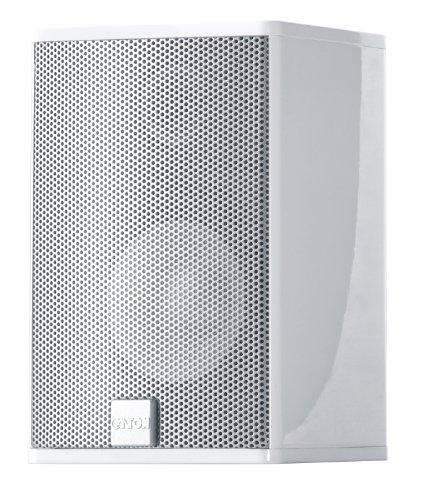 Canton CD 1020 Kleinlautsprecher (45/100 Watt) weiss hochglanz (Paar)