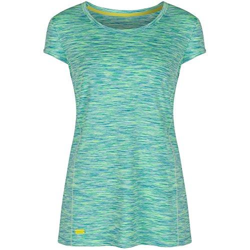 Regatta Hyper Dimension T-Shirt Femme, Rose Violet Vivid Viola