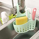 #9: ASHshop Kitchen Sink Sponge Holder Bathroom Hanging Strainer Organizer Exquisite Rack