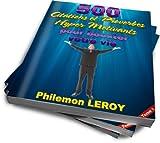 Telecharger Livres 500 citations et proverbes hyper motivants pour booster votre vie (PDF,EPUB,MOBI) gratuits en Francaise