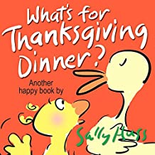 What's for Thanksgiving Dinner? (A Children's Picture Book) (Happy Children's Series Book 5) (English Edition)