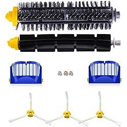 Pinceau pinceaux de rechange kit d'accessoires pour iRobot Roomba 600 série 600 605 610 615 616 620 625 630 631 632 639 650 651 660 670 680 681