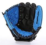 Gants de Baseball en Cuir Épaissir Infield Pichet Softball Enfant Junior Adulte Gants de Baseball (Color : Blue-11.5)
