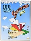 Rainex 400 GR - Paquete de 100 sobres para archivo A4, gris