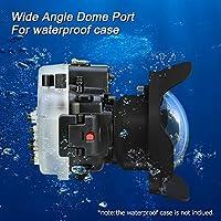 Sea Frogs WA-1 Weitwinkel-Fischaugenobjektiv für Kameragehäuse, Unterwasser-Ausrüstung, 40 m Wasserdichtes Fischaugenobjektiv