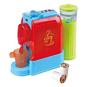 PlayGo-Cafetera Gourmet eléctrica con Accesorios,, (Color Baby 44578)