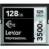 Lexar LC128CRBEU3500 Professional 3500x (525MB/s) Pro CFast CompactFlash Speicherkarte, 128 GB