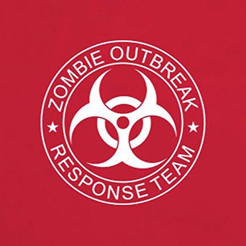 Zombie Outbreak Response Team - Herren T-Shirt Braun