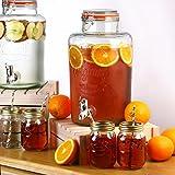 Kilner Garden Party Glass Water & Punch Drinks Dispenser (8 Litres)