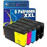 5x Tinten-Patrone XXL für Epson TE7911-TE7914 WorkForce Pro WF-4600 Series WF-4630 DWF WF-5620 ...