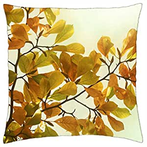 Yellow leaves - Throw Pillow Cover Case (18