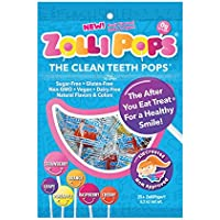 Zollipops Clean Teeth Pops, Anti Cavity Lollipops, Variety Pack, 25 Count by Zollipops