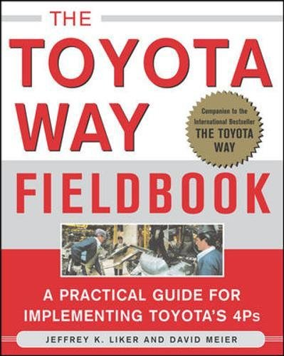 The Toyota Way Fieldbook: A Practical Guide for Implementing Toyota's 4Ps por Jeffrey Liker