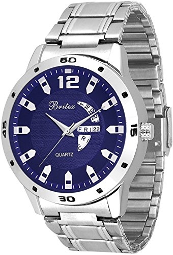 Britex Day and Date Function Analog Watch For Men / Boys - MM-6043