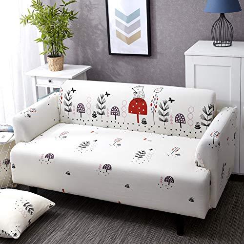 YHviking Stretch sofabezug,Anti-rutsch All-Inclusive- Couch Abdeckung Für Verschiedenen -Fürm Sofa Loveseat Stuhl Schnittsofa Fall 1pc -G 145-185cm(57-73inch)