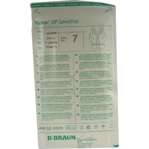 VASCO Op Handschuhe steril puderfrei Gr.7,0 2 St Handschuhe