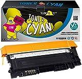 Yellow Yeti CLT-C406S (1000 Seiten) Cyan Premium Toner kompatibel für Samsung Xpress SL C410W C460FW C460W C467W CLP-360 CLP-360N CLP-365 CLP-365W CLX-3300 CLX-3305 CLX-3305FN CLX-3305FW CLX-3305W [3 Jahre Garantie]