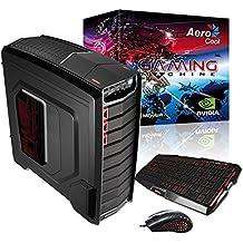 Aerocool Aero Clanoc - Ordenador de sobremesa (Intel i5-4690K, PB Z97, 8 GB de RAM, 1866 MHz, 1 TB de disco duro, SSD 120 GB 550 Mb/s, VGA GTX970, grabadora DVD)