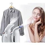 SUNAM Plastic Handheld 100ml Facial and Garment Steamer (Multicolour)