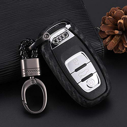 2 Reposacabezas Cubiertas en Negro para Audi A2 A3 A4 A6 A8 B4 B6 B8 80