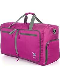 Bolsa de Bago para el equipaje de viaje Gimnasio Deportes Camping y Bungalows - plegable ligera en sí misma Duffel a