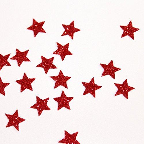 appliqué 30 étoiles 1cmFlex thermocollant GLITTER BLEU   hotfix