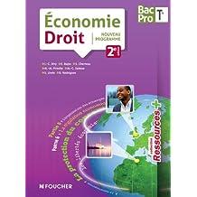 Ressources + Economie - Droit Tle Bac Pro