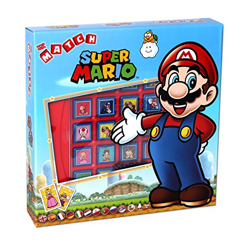 Winning Moves Top Trumps Match - Super Mario Würfelspiel (Einen Karton Auto Kostüm)