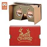 AUPALLA ™ Google Cardboard v2 3D Virtual Reality Glasses Bestes Weihnachtsgeschenk