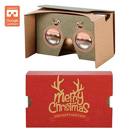 AUPALLA Google Cardboard v2 3D Virtual Reality