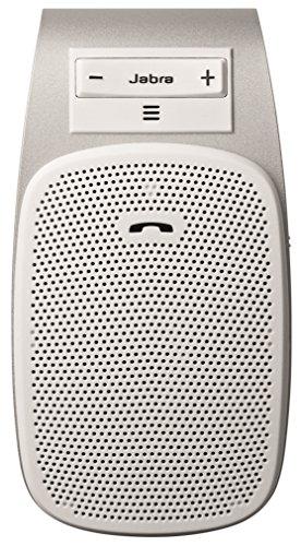 Jabra Drive Bluetooth KFZ Freisprecheinrichtung (Sprachführung, Multiuse, sicheren telefonieren im Auto durch Anbringen an der Sonnenblende) weiß - Supertooth-kfz-kit