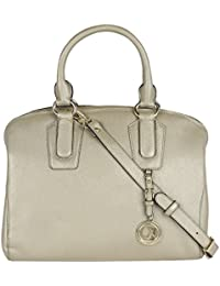 Da Milano LB-1971M Light Gold Leather Handbag