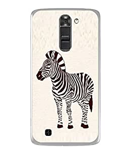 Fuson Designer Back Case Cover for LG K10 :: LG K10 Dual SIM :: LG K10 K420N K430DS K430DSF K430DSY (comic character creativity round )