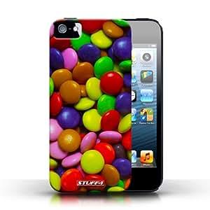 Coque en plastique pour Apple iPhone 5/5S Collection Bonbons - Smarties