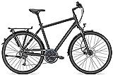 Trekkingbike Kalkhoff VOYAGER PRO 27G 28' Herren Scheibenbremsen, Rahmenhöhen:60;Farben:Magicblackmatt