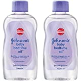 Johnson's Baby Bedtime Oil with Natural Calm Aromas 2 x 200ml