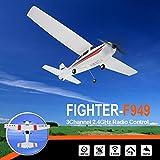 RC Airplane, Colorful WLtoys F949 2.4Ghz 3CH RC Airplane Fixed Wing Plane Outdoor Toys Drone ,für Kinder Geburtstag Weihnachten Spielzeug
