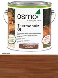 OSMO Thermoholz-Öl 010 transparent getönt 2,5L [Misc.]