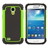 kwmobile Samsung Galaxy S4 Mini Hülle - Hybrid Handy Cover Case Schutzhülle - Handyhülle für Samsung Galaxy S4 Mini