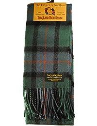 100% lambswool Made in Écharpe Ecosse Flower of Scotland Tartan 55 pouces de long