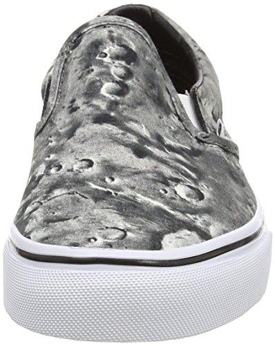 Vans Classic Slip-on, Glisser sur mixte adulte Gris (Moon - Pewter/True White)