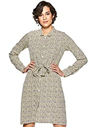Miss Olive Crepe Shirt Dress