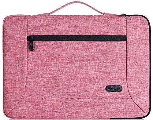 ProCase 14-15,6 Zoll Laptop Sleeve Case Cover Tasche für 15 Zoll MacBook Pro/Pro Retina, Sleeve Tasche für 14 15 Zoll Laptop Ultrabook Notebook Chromebook Lenovo Dell Toshiba HP ASUS Acer -Rosa (Chromebook Acer Haut)