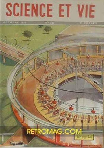 Science et vie, n° 397, oct. 1950 : la cybernétique compare les hommes et les robots l'acupuncture