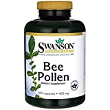 Swanson Bee Pollen 400mg (300 Capsules) by Swanson Health Products