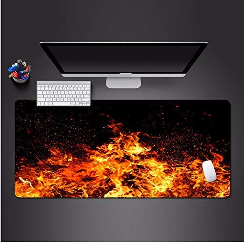 700 * 300 * 3mm personalisierte kreative kunst flamme mauspad hohe qualität HD druck gummi waschbar pad heißer büro spiel computer tastatur mauspad