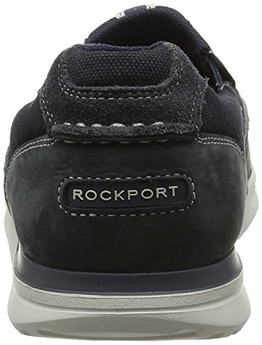 Rockport Herren Langdon Slip On Slipper Blau (steel Blue)