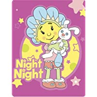 Fifi & The Flowertots Night Night Fleece Blanket, Multi, 120 x 150 Cm