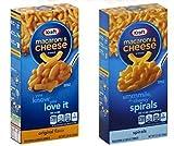 #9: Combo of Kraft Macaroni and Cheese Dinner (Original 206g + Spiral 156g)